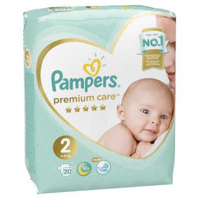 Подгузники Pampers Premium Care 2 4-8 кг 20 шт
