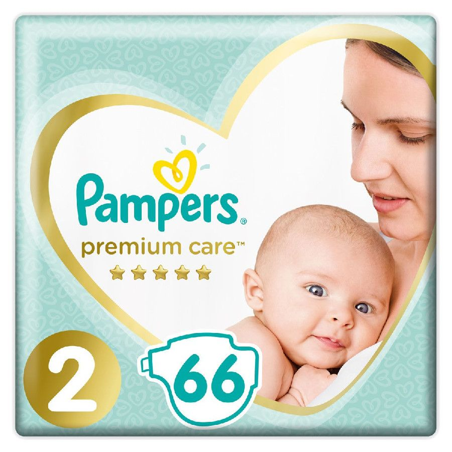 Подгузники Pampers Premium Care 2 4-8кг 66шт